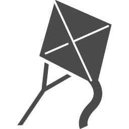 凧アイコン2 アイコン素材ダウンロードサイト Icooon Mono 商用利用可能なアイコン素材が無料 フリー ダウンロードできるサイト