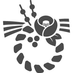 正月飾りアイコン アイコン素材ダウンロードサイト Icooon Mono 商用利用可能なアイコン素材が無料 フリー ダウンロードできるサイト