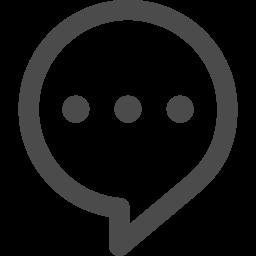 コメントの無料アイコン アイコン素材ダウンロードサイト Icooon Mono 商用利用可能なアイコン 素材が無料 フリー ダウンロードできるサイト