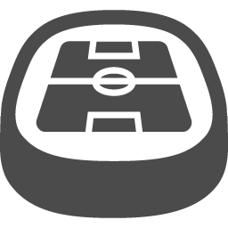 サッカースタジアムの無料アイコン2 アイコン素材ダウンロードサイト Icooon Mono 商用利用可能なアイコン素材が無料 フリー ダウンロードできるサイト