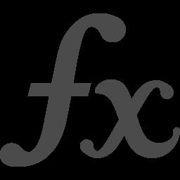 関数アイコン1 アイコン素材ダウンロードサイト Icooon Mono 商用利用可能なアイコン素材が無料 フリー ダウンロードできるサイト