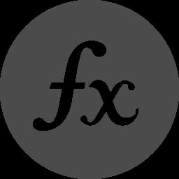 関数アイコン2 アイコン素材ダウンロードサイト Icooon Mono 商用利用可能なアイコン素材が無料 フリー ダウンロードできるサイト