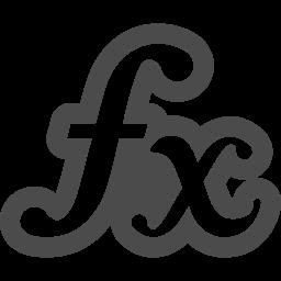 関数アイコン3 アイコン素材ダウンロードサイト Icooon Mono 商用利用可能なアイコン素材が無料 フリー ダウンロードできるサイト