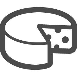 チーズアイコン2 アイコン素材ダウンロードサイト Icooon Mono 商用利用可能なアイコン素材が無料 フリー ダウンロードできるサイト