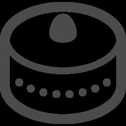 ホールケーキアイコン アイコン素材ダウンロードサイト Icooon Mono 商用利用可能なアイコン 素材が無料 フリー ダウンロードできるサイト