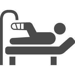 入院アイコン アイコン素材ダウンロードサイト Icooon Mono 商用利用可能なアイコン素材が無料 フリー ダウンロードできるサイト