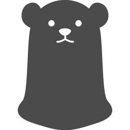 白熊アイコン4 アイコン素材ダウンロードサイト Icooon Mono 商用利用可能なアイコン素材が無料 フリー ダウンロードできるサイト