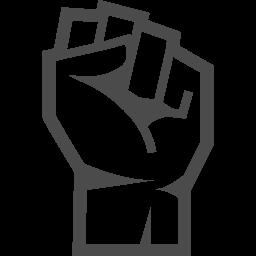 怒りのコブシアイコン1 アイコン素材ダウンロードサイト Icooon Mono 商用利用可能なアイコン素材が無料 フリー ダウンロードできるサイト