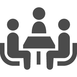 会議アイコン1 アイコン素材ダウンロードサイト Icooon Mono 商用利用可能なアイコン素材が無料 フリー ダウンロードできるサイト