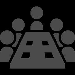 会議アイコン3 アイコン素材ダウンロードサイト Icooon Mono 商用利用可能なアイコン素材が無料 フリー ダウンロードできるサイト