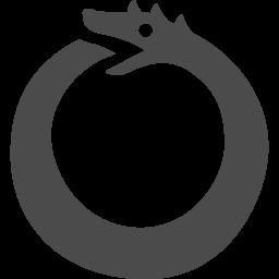 ウロボロスアイコン1 アイコン素材ダウンロードサイト Icooon Mono 商用利用可能なアイコン素材が無料 フリー ダウンロードできるサイト