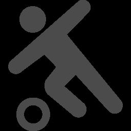 ドリブルのピクトグラム1 アイコン素材ダウンロードサイト Icooon Mono 商用利用可能なアイコン素材が無料 フリー ダウンロードできるサイト