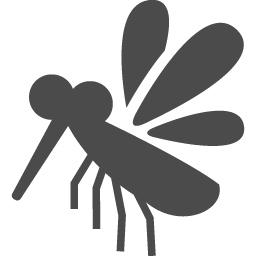 蚊の無料アイコン1 アイコン素材ダウンロードサイト Icooon Mono 商用利用可能なアイコン素材が無料 フリー ダウンロードできるサイト