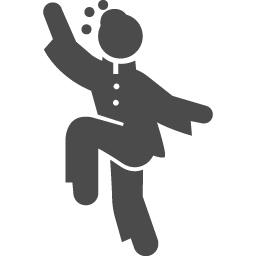 太極拳のピクトグラム1 アイコン素材ダウンロードサイト Icooon Mono 商用利用可能なアイコン素材が無料 フリー ダウンロードできるサイト