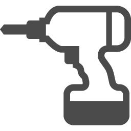 インパクトドライバーの無料素材2 アイコン素材ダウンロードサイト Icooon Mono 商用利用可能なアイコン 素材が無料 フリー ダウンロードできるサイト