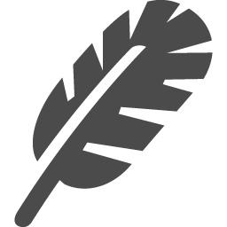 羽毛アイコン アイコン素材ダウンロードサイト Icooon Mono 商用利用可能なアイコン素材が無料 フリー ダウンロードできるサイト