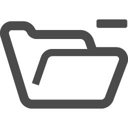 フォルダの無料アイコン16 アイコン素材ダウンロードサイト Icooon Mono 商用利用可能なアイコン素材 が無料 フリー ダウンロードできるサイト