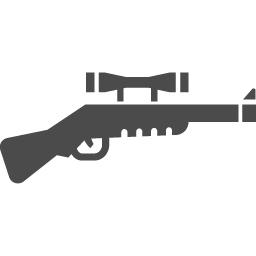 ライフルアイコン アイコン素材ダウンロードサイト Icooon Mono 商用利用可能なアイコン素材が無料 フリー ダウンロードできるサイト