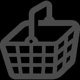 カゴの無料素材 アイコン素材ダウンロードサイト Icooon Mono 商用利用可能なアイコン素材が無料 フリー ダウンロードできるサイト