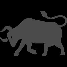 闘牛アイコン3 アイコン素材ダウンロードサイト Icooon Mono 商用利用可能なアイコン素材が無料 フリー ダウンロードできるサイト