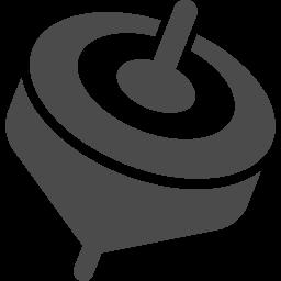 独楽アイコン1 アイコン素材ダウンロードサイト Icooon Mono 商用利用可能なアイコン素材が無料 フリー ダウンロードできるサイト