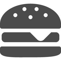 ハンバーガーの無料アイコン7 アイコン素材ダウンロードサイト Icooon Mono 商用利用可能なアイコン素材が無料 フリー ダウンロードできるサイト