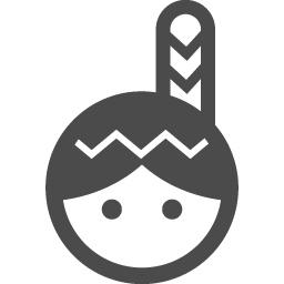 インディアンの無料アイコン2 アイコン素材ダウンロードサイト Icooon Mono 商用利用可能なアイコン 素材が無料 フリー ダウンロードできるサイト