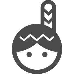 インディアンの無料アイコン2 アイコン素材ダウンロードサイト Icooon Mono 商用利用可能なアイコン素材が無料 フリー ダウンロードできるサイト