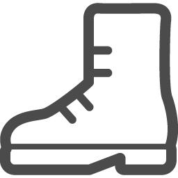 ブーツの無料アイコン5 アイコン素材ダウンロードサイト Icooon Mono 商用利用可能なアイコン 素材が無料 フリー ダウンロードできるサイト
