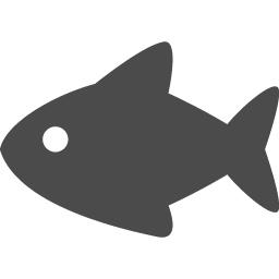 お魚アイコン アイコン素材ダウンロードサイト Icooon Mono 商用利用可能なアイコン素材が無料 フリー ダウンロードできるサイト