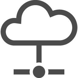 クラウドストレージアイコン アイコン素材ダウンロードサイト Icooon Mono 商用利用可能なアイコン 素材が無料 フリー ダウンロードできるサイト