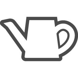 ジョウロアイコン4 アイコン素材ダウンロードサイト Icooon Mono 商用利用可能なアイコン素材が無料 フリー ダウンロードできるサイト
