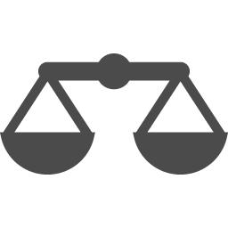 天秤アイコン アイコン素材ダウンロードサイト Icooon Mono 商用利用可能なアイコン素材が無料 フリー ダウンロードできるサイト