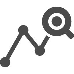 分析のフリーアイコン アイコン素材ダウンロードサイト Icooon Mono 商用利用可能なアイコン素材が無料 フリー ダウンロードできるサイト