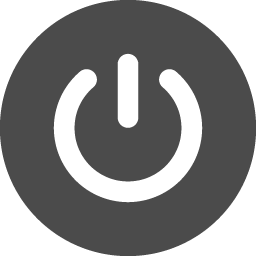 電源ボタン アイコン素材ダウンロードサイト Icooon Mono 商用利用可能なアイコン素材が無料 フリー ダウンロードできるサイト