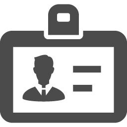 入館カードの無料イラスト アイコン素材ダウンロードサイト Icooon Mono 商用利用可能なアイコン素材が無料 フリー ダウンロードできるサイト