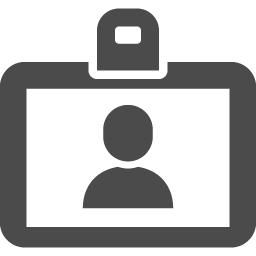 入館カードアイコン アイコン素材ダウンロードサイト Icooon Mono 商用利用可能なアイコン素材が無料 フリー ダウンロードできるサイト