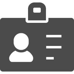 Idカードアイコン アイコン素材ダウンロードサイト Icooon Mono 商用利用可能なアイコン素材が無料 フリー ダウンロードできるサイト