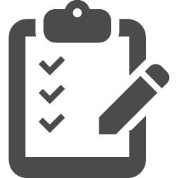 アンケートシートのフリー素材 アイコン素材ダウンロードサイト Icooon Mono 商用利用可能なアイコン素材が無料 フリー ダウンロードできるサイト