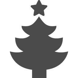 クリスマスツリーのフリーアイコン アイコン素材ダウンロードサイト Icooon Mono 商用利用可能なアイコン素材が無料 フリー ダウンロードできるサイト