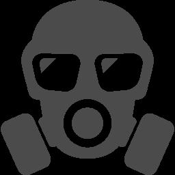 ガスマスクのフリー素材1 アイコン素材ダウンロードサイト Icooon Mono 商用利用可能なアイコン素材が無料 フリー ダウンロードできるサイト