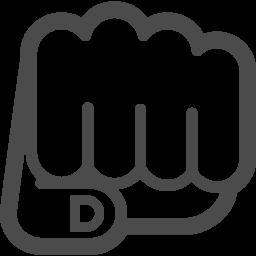 パンチの無料イラスト アイコン素材ダウンロードサイト Icooon Mono 商用利用可能なアイコン素材が無料 フリー ダウンロードできるサイト