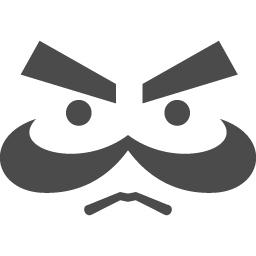 おじさん顔アイコン アイコン素材ダウンロードサイト Icooon Mono 商用利用可能なアイコン素材が無料 フリー ダウンロードできるサイト