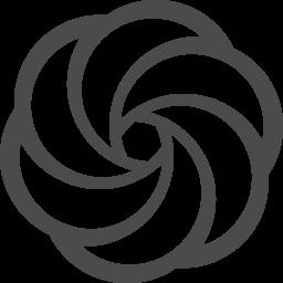 渦巻きマーク アイコン素材ダウンロードサイト Icooon Mono 商用利用可能なアイコン素材が無料 フリー ダウンロードできるサイト