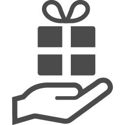 プレゼントの無料イラスト アイコン素材ダウンロードサイト Icooon Mono 商用利用可能なアイコン素材が無料 フリー ダウンロードできるサイト
