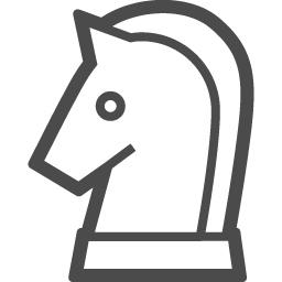 チェスの無料アイコン アイコン素材ダウンロードサイト Icooon Mono 商用利用可能なアイコン素材が無料 フリー ダウンロードできるサイト