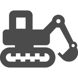 シャベルカーの無料アイコン アイコン素材ダウンロードサイト Icooon Mono 商用利用可能なアイコン 素材が無料 フリー ダウンロードできるサイト