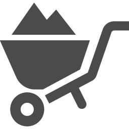 手押し車アイコン アイコン素材ダウンロードサイト Icooon Mono 商用利用可能なアイコン素材が無料 フリー ダウンロードできるサイト