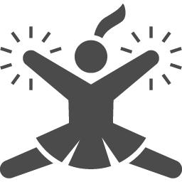 チアリーダーのピクトグラム アイコン素材ダウンロードサイト Icooon Mono 商用利用可能なアイコン素材が無料 フリー ダウンロードできるサイト