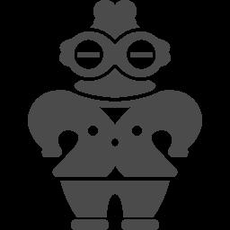 土偶アイコン アイコン素材ダウンロードサイト Icooon Mono 商用利用可能なアイコン素材が無料 フリー ダウンロードできるサイト